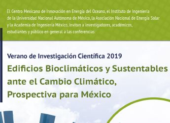 Ciclo de conferencias de Edificios Bioclimáticos y Sustentables.